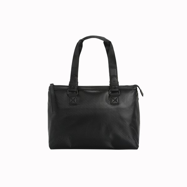 D922 Black Women's Tote Bag in technical fabric