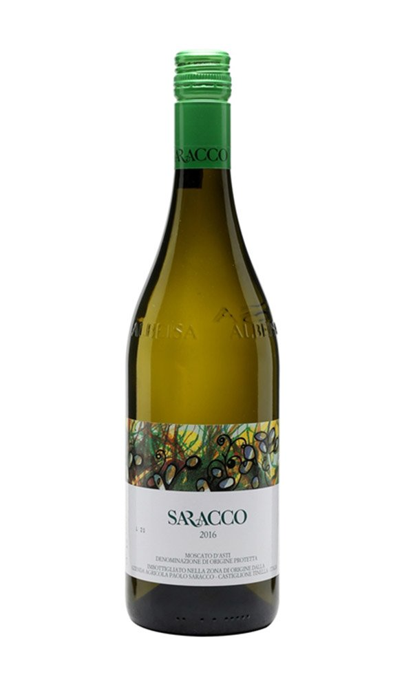 Moscato d'Asti DOCG by Paolo Saracco (Case of 3 - Italian Sweet White Wine)