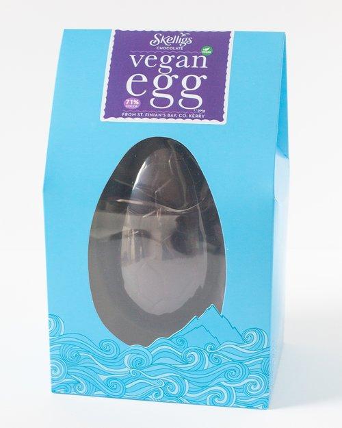 Skelligs Chocolate Vegan Dark Chocolate Egg