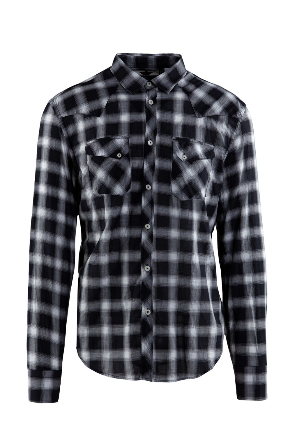 Texand shirt squared pattern