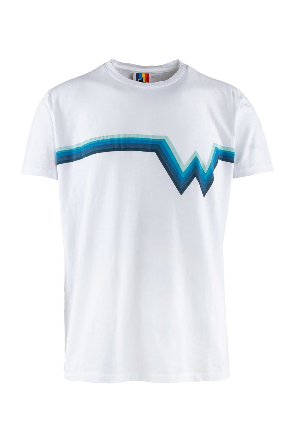 T-shirt degradé Waves x Macchia J.