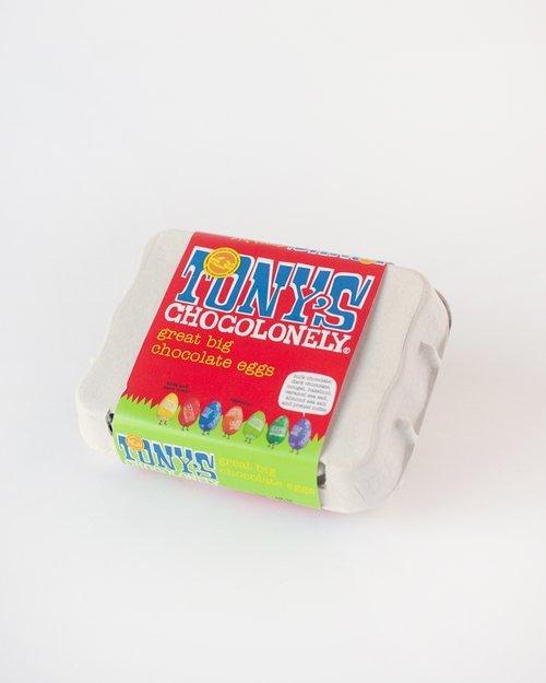 Tony's Chocolonely Great Big Chocolate Eggs