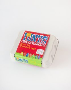 Tony's Chocolonely Great Big Chocolate Eggs