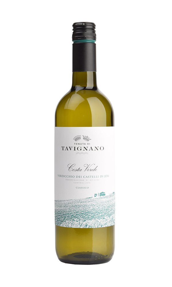 Verdicchio dei Castelli di Jesi Costa Verde by Tenuta di Tavignano (Case of 6 - Italian White Wine)