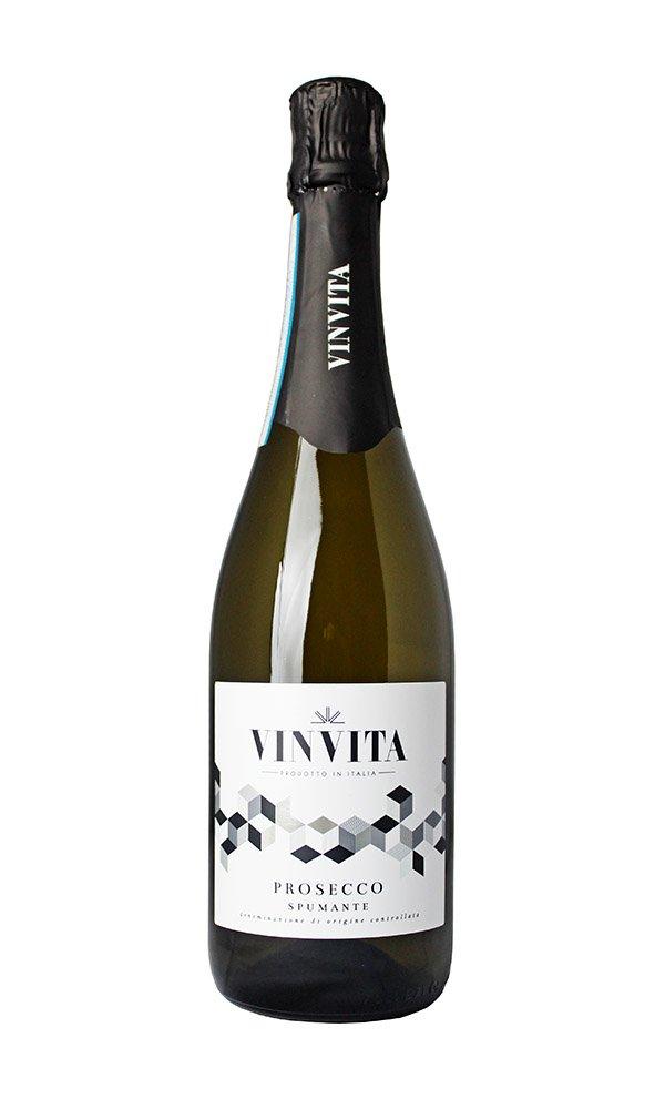 Prosecco Spumante DOC Vinvita (Case of 6 - Italian Sparkling Wine)