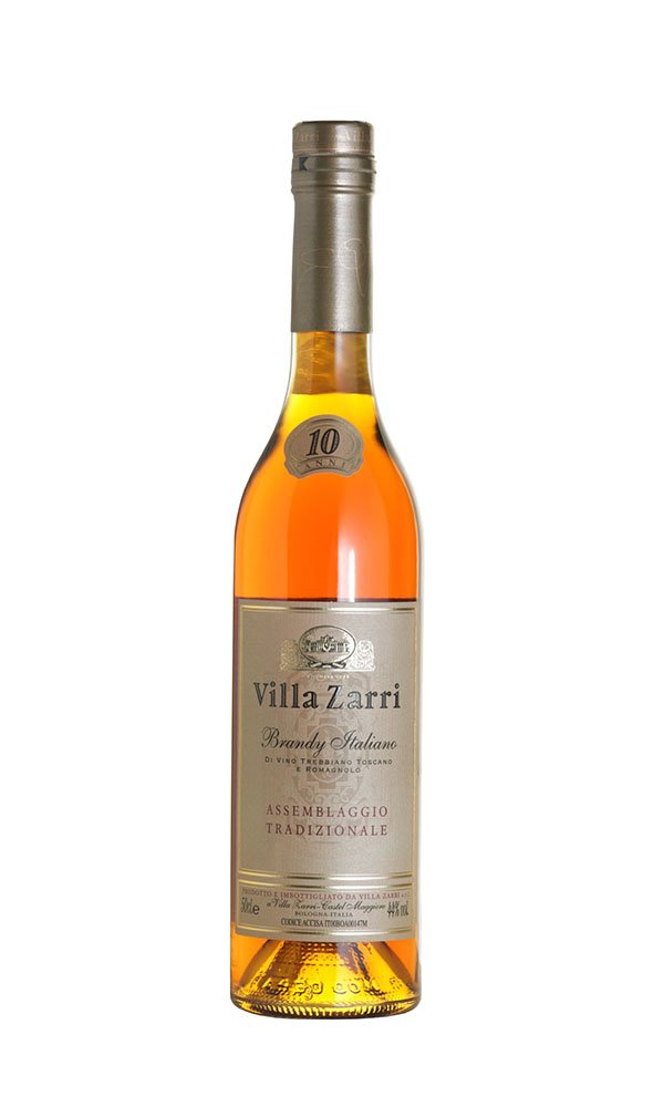 Brandy 10-years by Villa Zarri (Italian Brandy)